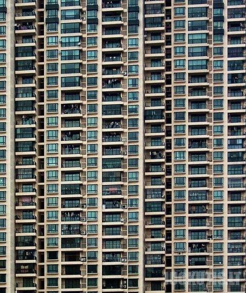 Daugiabučiai Kinijoje (10 nuotraukų)