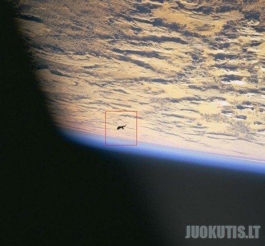 Ateivių laivas ar NASOS šiukšlės? (12 nuotraukų)
