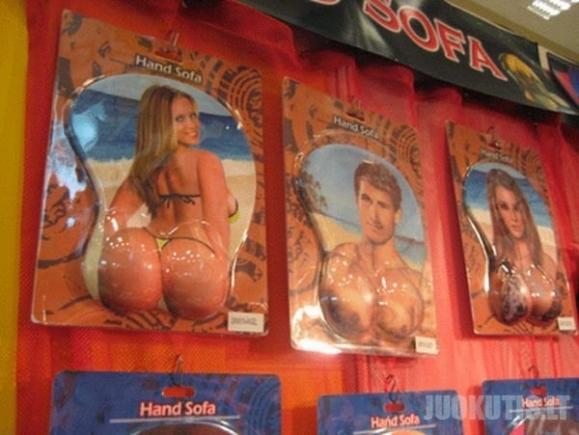 Seksualūs kilimėliai kompiuterių pelėms (13 nuotraukų)