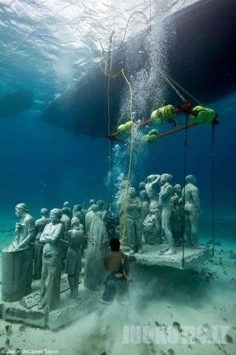 Muziejus povandeninių skulptūrų (26 foto)