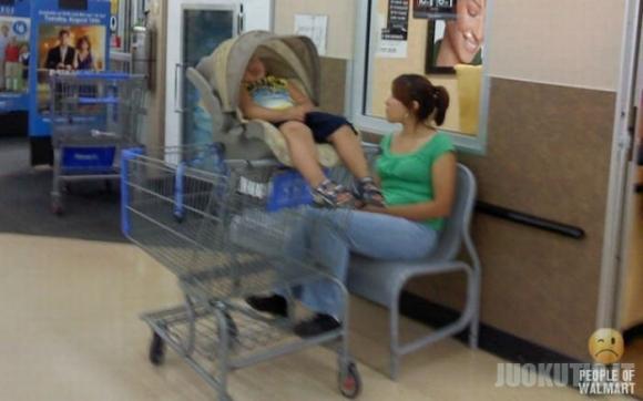 Įdomūs žmonės prekybos centruose (73 nuotraukos)