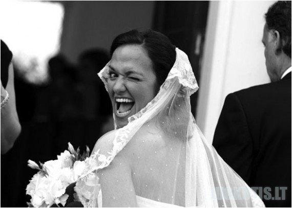 Juokingos vestuvių nuotraukos (42 nuotraukos)