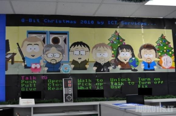 Programuotojai štai taip puošia savo biurus : ) (15 nuotraukų)