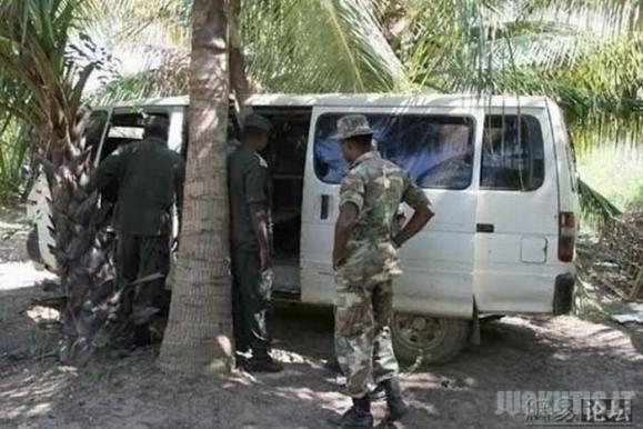 Šarvuotas Somaliečių automobilis