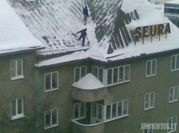Kaimynui siurprizas! (2 nuotraukos)