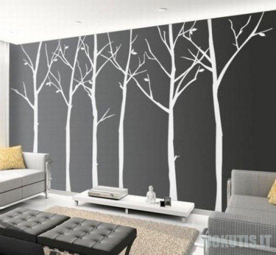 Menas ant sienos (20 nuotraukų)