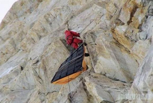 Alpinistų gyvenimas (17 nuotraukų)