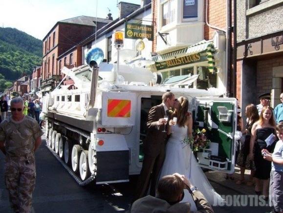Tankas vestuvėms (13 nuotraukų)