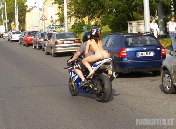 Važiavimas motociklu