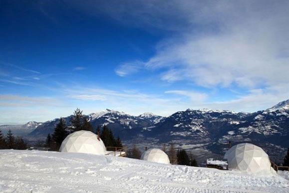Viešbutis Alpėse