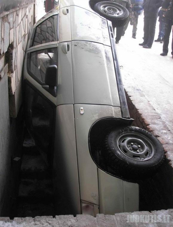 Parkavimas (5 nuotraukos)
