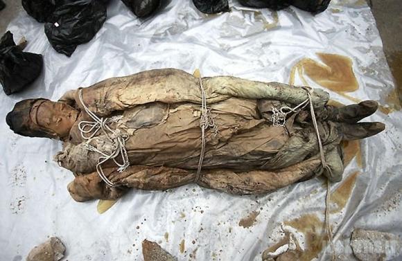 Kinijoje aptikta mumija