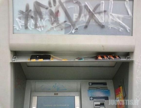 Bankomatas aferistas