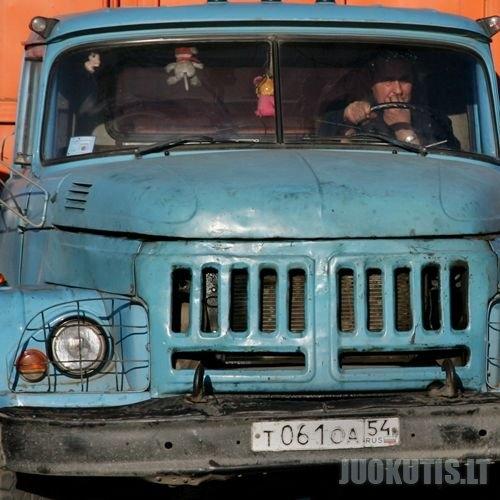 Vairuotojai Rusijos keliuose