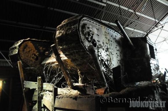 Tankų muziejus Didžiojoje Britanijoje