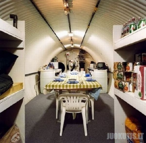 Paprastu žmonių bunkeriai