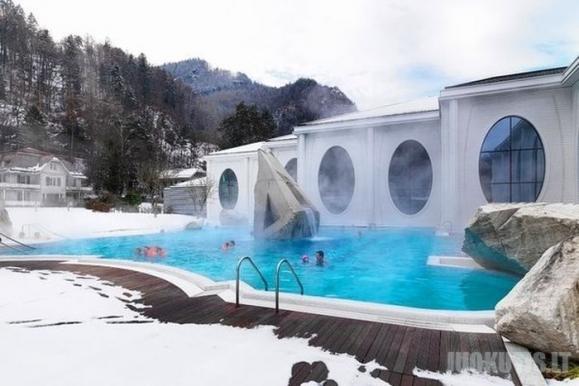 Geriausi SPA centrai Šveicarijoje