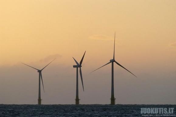 Vėjo jėgainė jūroje