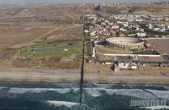 JAV ir Meksikos siena