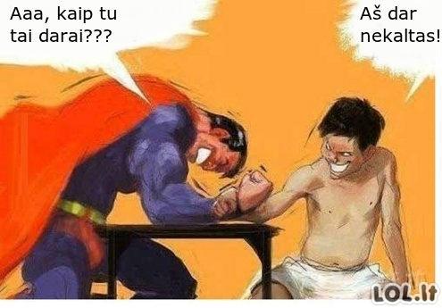 Kietesnis už Supermaną