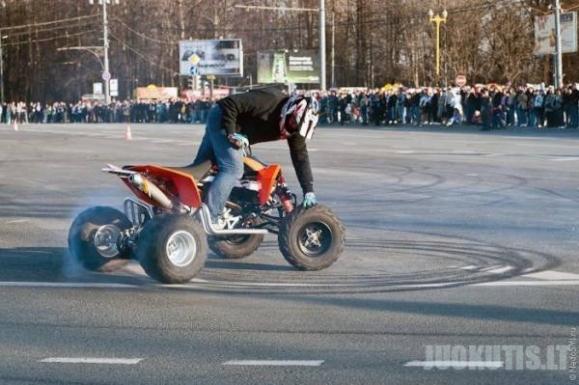 Baikerių sezono atidarymas Maskvoje