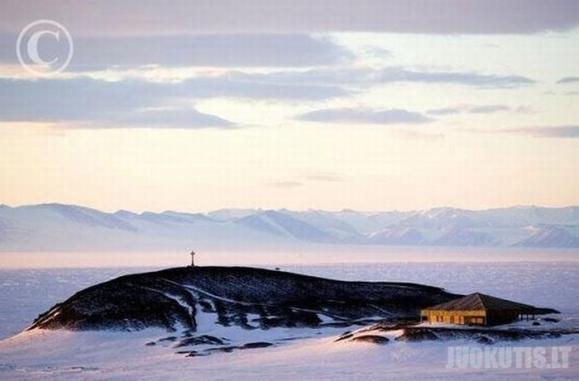 Antarktida prieš 100 metų