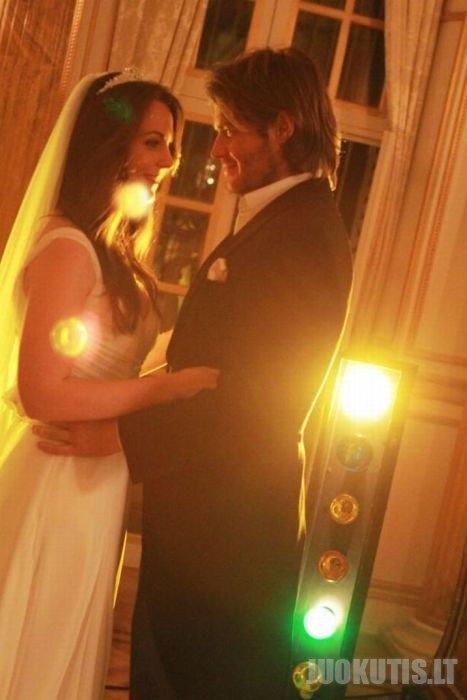 Šeimyninės nuotraukos iš karališkų vestuvių