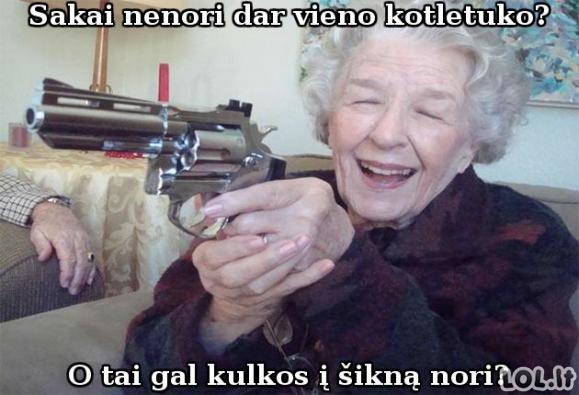 Močiutė teroristė