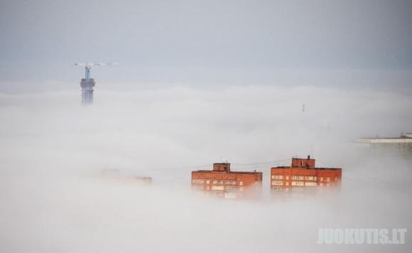 Ryto rūkas, Vladivostoke