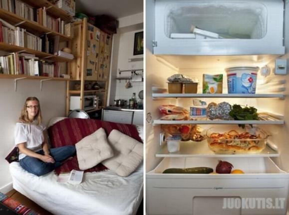 Parodyk, savo šaldytuvo turinį, pasakysiu koks esi