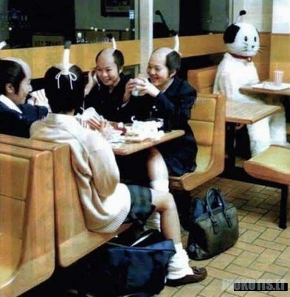Tai įmanoma tik Japonijoje. Antra dalis