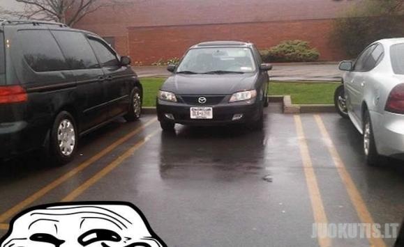 Laisva vieta parkavimui? O vat ir ne!
