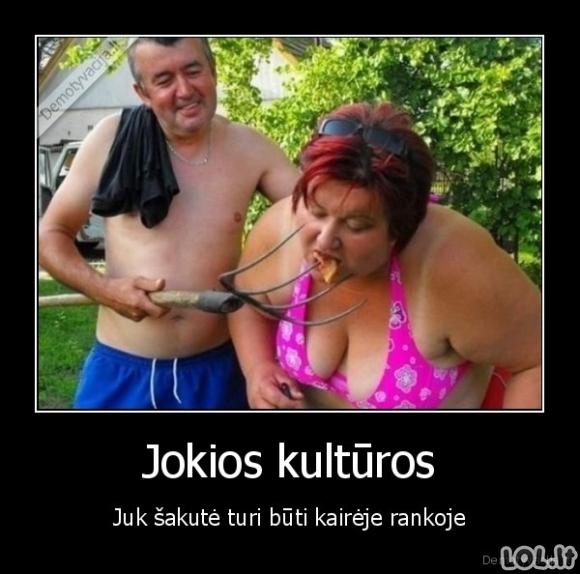 Lietuviai - nekultūringiausia tauta
