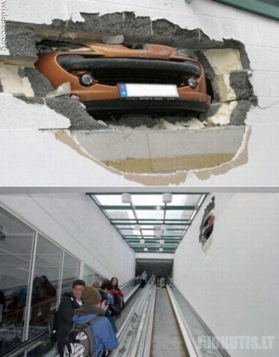 Neįprasti auto įvykiai
