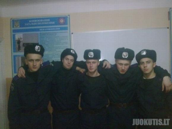 Ukrainiečių milicininkai