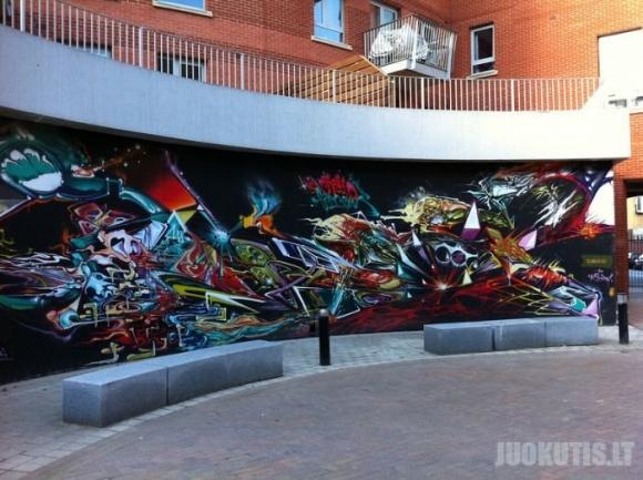 Klasiški graffiti iš Londono