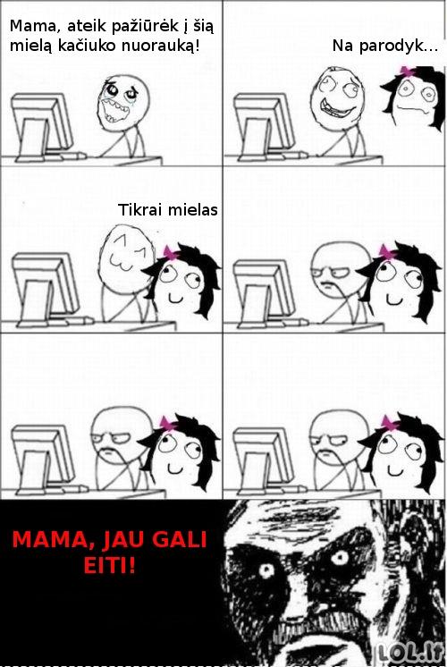 Visos mamos elgiasi taip!
