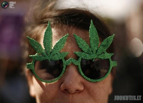 Eitynės už marihuanos legalizavimą įvairiose pasaulio šalyse