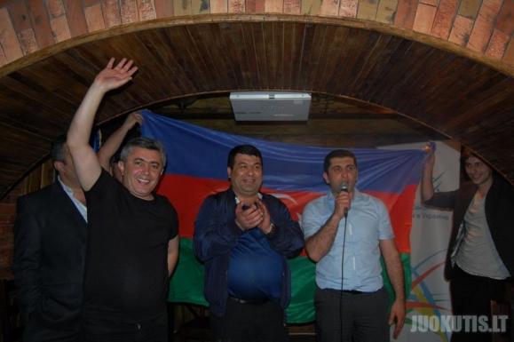 Eurovizijos pergalės šventimas Azerbaidžane