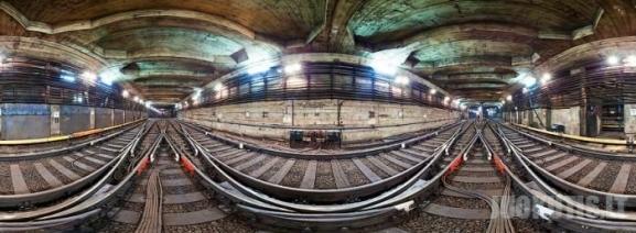 Panoraminis vaizdas į metro