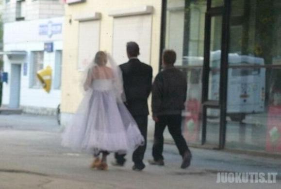 Neįprastos vestuvės
