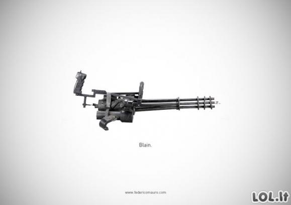 Žymiausių ginklų rinkinukas