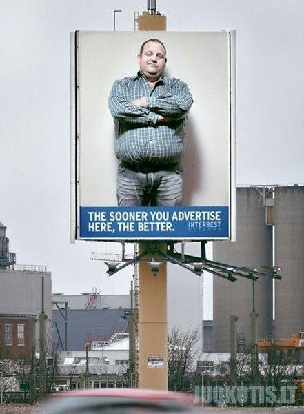Išradingas reklamos marketingas