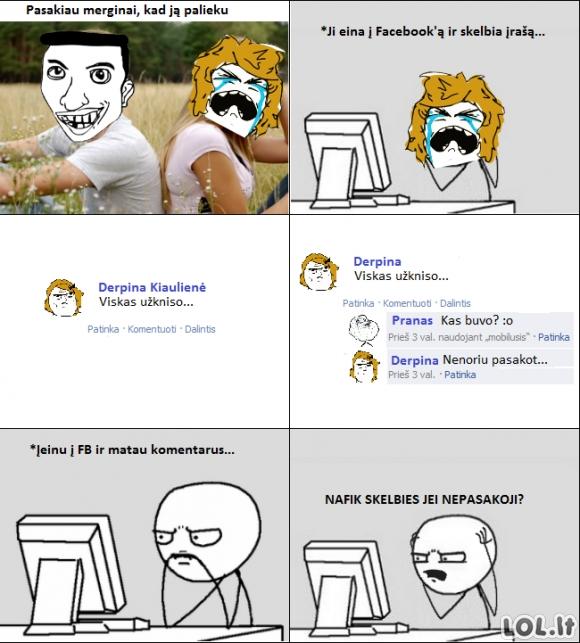 Išpažintis Facebook'ui
