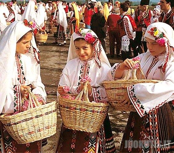 Rožių festivalis Bulgarijoje
