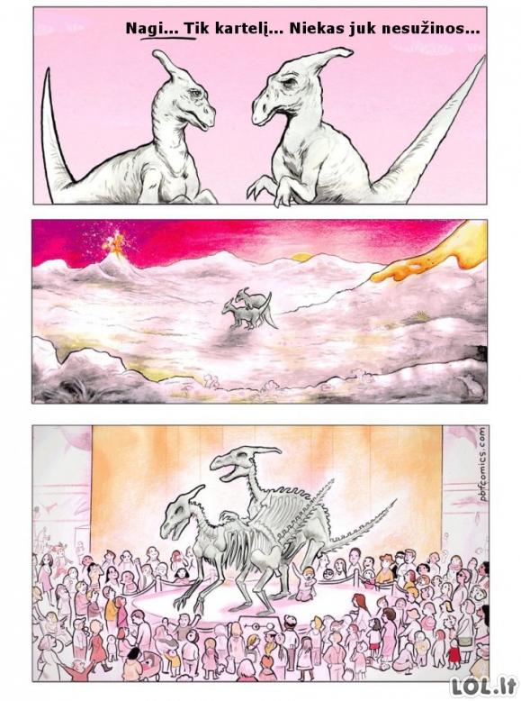 Ištvirkę dinozaurai