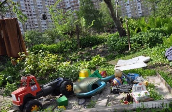 Lušnynas, Kijevo centre