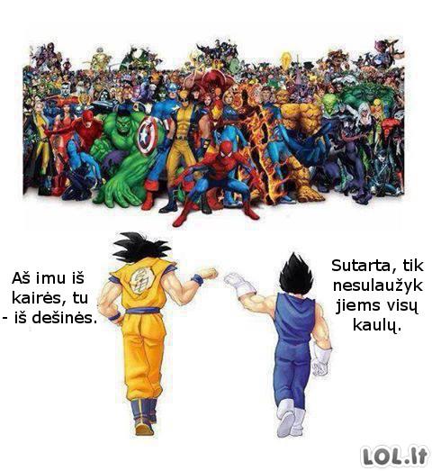 Vieninteliai tikri superherojai