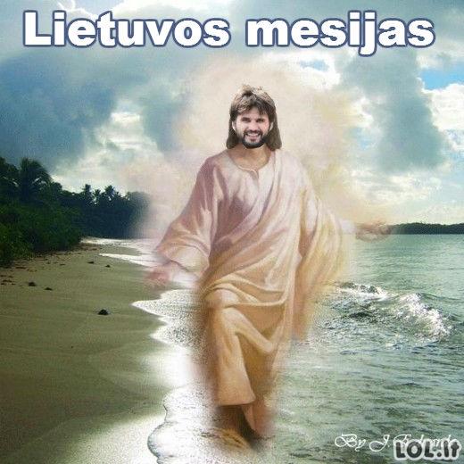 Lietuviai turi naują Dievą!