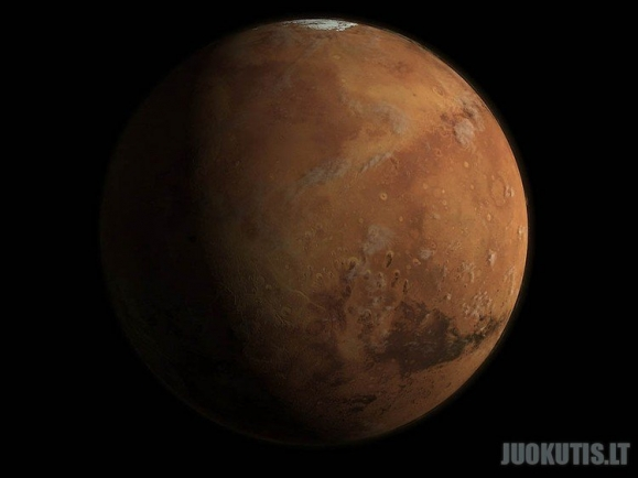 Paslaptingas ir nuostabus Marsas